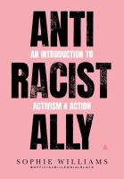 Anti Racist Ally book cover image