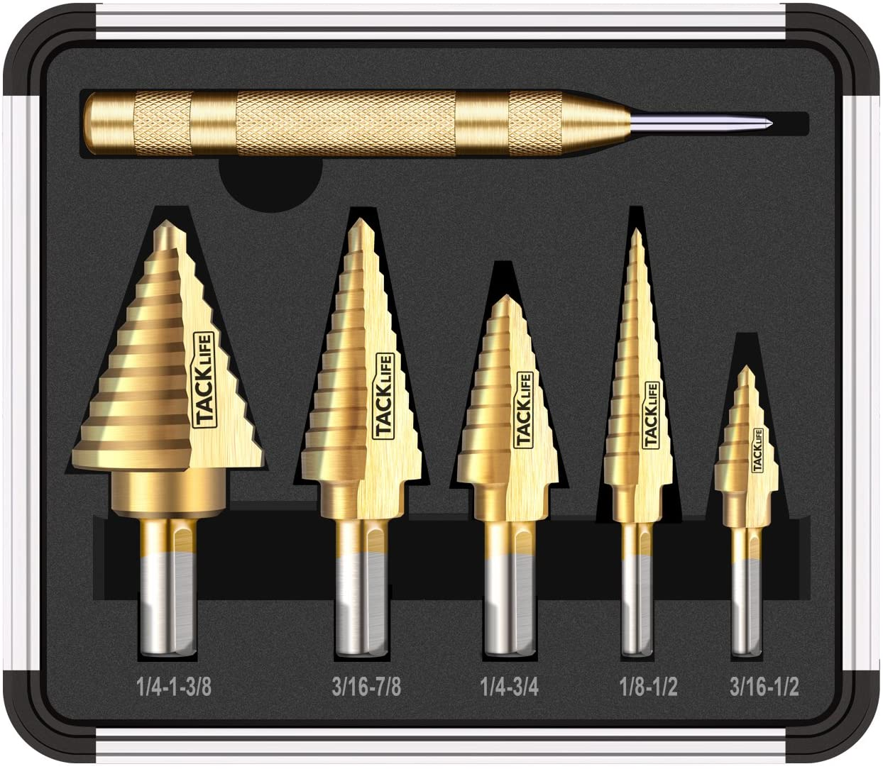 step drill bit set image
