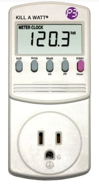 kill-a-watt electricity meter image