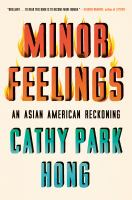 minor feelings book cover image